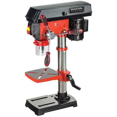 general 14 bench top drill press general international power products 10 5 speed drill