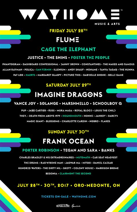 way home wayhome adds cage the elephant and more to lineup news bandmine com