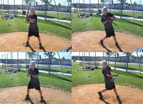 best softball swing technique shorten your swing with one handed drills article by bryan