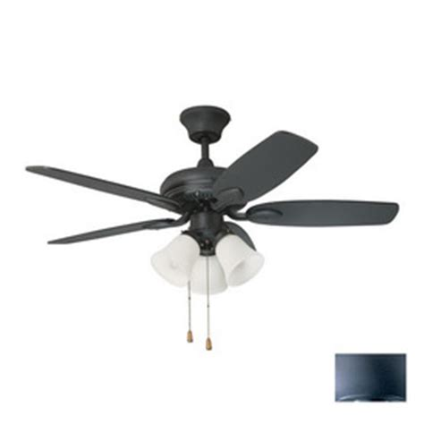 Shop Kendal Lighting Cordova 42 In Wrought Iron Downrod Wrought Iron Ceiling Fan
