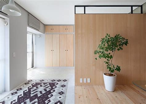 Unusual L Shaped Apartment With No Doors In Japan Home Interior Design Kitchen And Bathroom | unusual l shaped apartment with no doors in japan decor