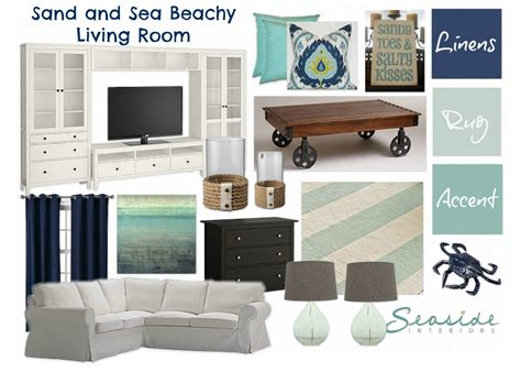 Seaside Interiors by Seaside Interiors Mood Board Link Sand And Sea