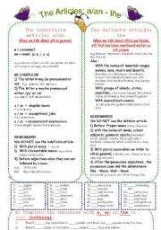 grammar exercise the definite and indefinite articles esl worksheets for beginners the definite and indefinite