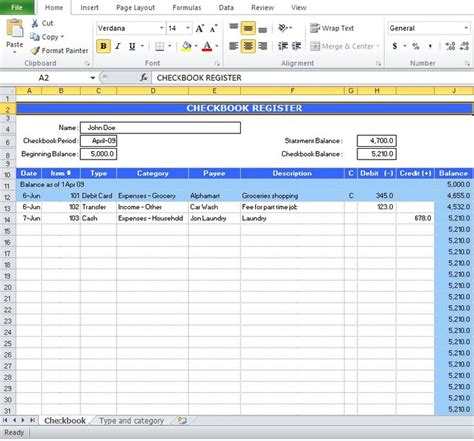 excel templates check register 17 best ideas about check register on