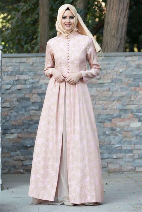 inspirasi desain gaun gaun pesta muslim hijabtuts
