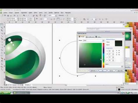 youtube tutorial corel draw x4 corel draw x4 tutorial sony ericsson logo by coral joe
