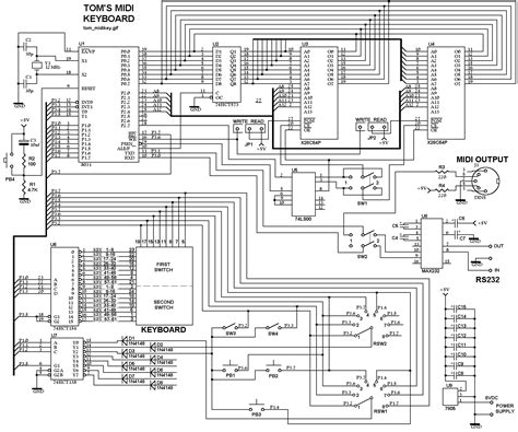 electronic keyboard wiring diagram electronic get free