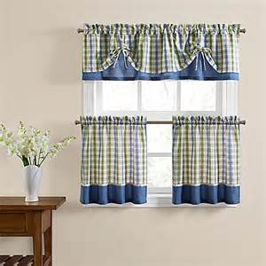 risa window curtain tier pair and valance bed bath beyond