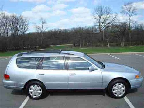 1996 Toyota Camry Wagon Sell Used 1996 Toyota Camry Wagon Low Clean 3rd