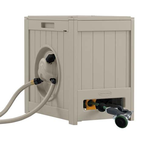 suncast outdoor cabinet assembly instructions suncast 125 ft aquawinder auto rewind hose reel rsh125