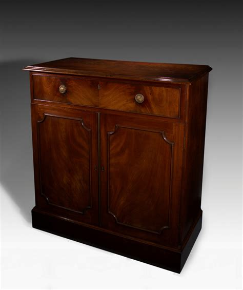 side cabinet antique george iii mahogany side cabinet with cellaret drawer