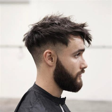 short hair sides and long back 75 creative short on sides long on top haircuts 2018 ideas