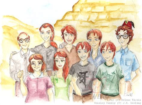 the weasley family by kendrakickz0220 on deviantart the weasleys by sukiitoko on deviantart