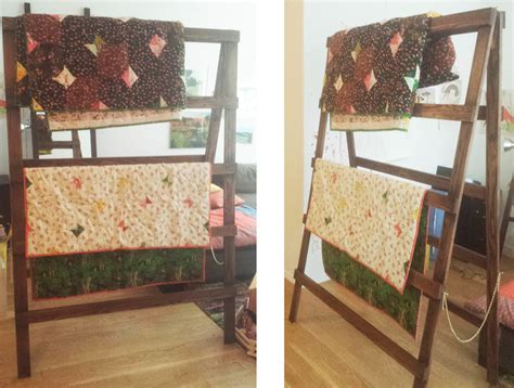 How To Build A Quilt Rack by How To Make A Quilt Rack Ross