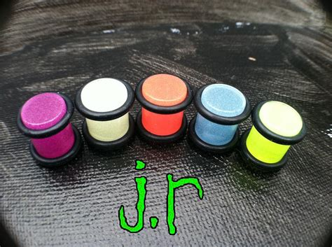 White Glow By Maymay Store white glow in the plugs 183 j r jewelry plugs