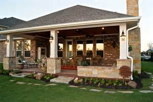 Patio Covers With Fireplace Patio Cover With Fireplace In Telfair Custom Patios