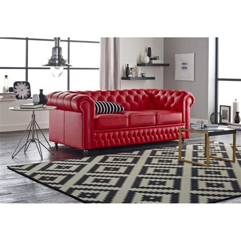 Buy A 3 Seater Chesterfield Sofa At Sofas By Saxon 3 Seater Chesterfield Sofa
