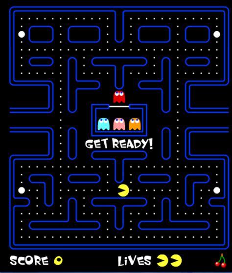 doodle do pacman de geografia jogo de pacman e jogar pac