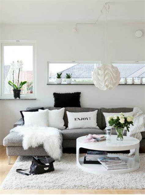 wohnzimmerdekoration bilder wohnzimmer farben bilden sie sch 246 ne kontraste in schwarz