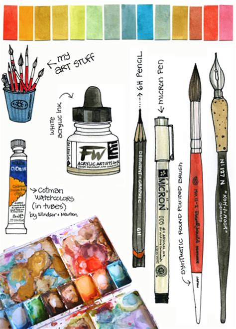 Painting Utensils by Creative Ideas For You Watercolor Painting How To And