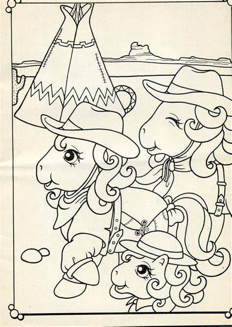 Coloring Book Mio Mini Pony