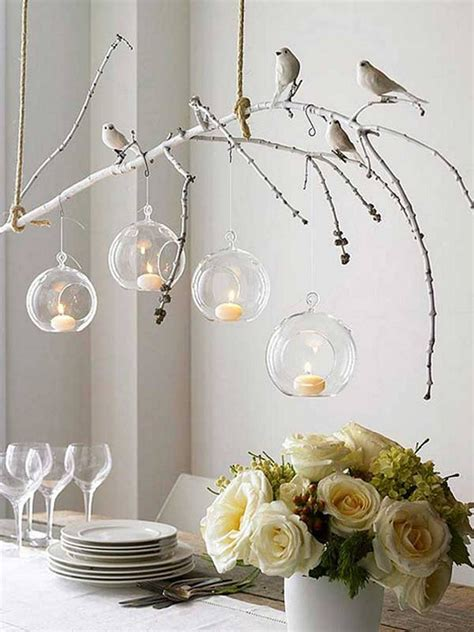 Using Branches Creatively Tree Branch Decor Decorations For Chandeliers