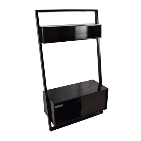 crate and barrel sloane leaning bookcase ladder tv stand amazing designs ideas of small tv stands