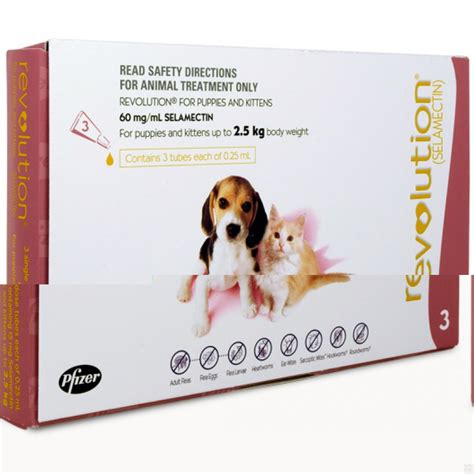 revolution for puppies and kittens revolution puppies and kittens up to 2 5kg pink