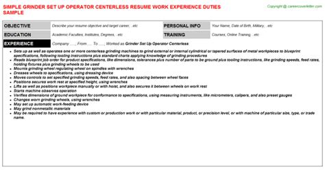 Grinder Cover Letters by Call Center Resumes