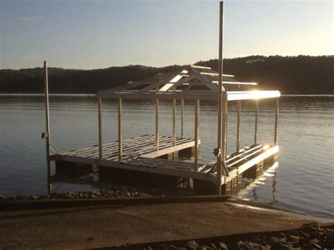aluminum docks important factors that affect lake dock prices - Boat Docks Prices