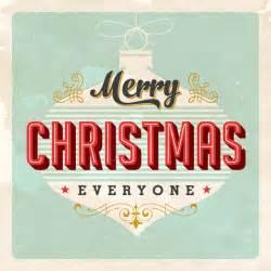 retro merry christmas card library vector clipart photo