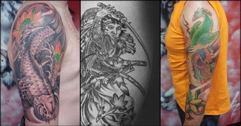tato tulisan jepang keren 16 tato keren para yakuza jepang ini artistik banget keren