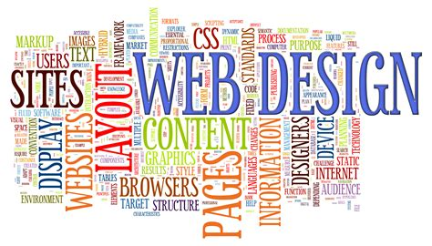 design word the world of web design new orleans marketing