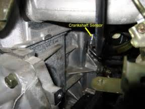 Crankshaft Position Sensor Nissan Altima 2006 Nissan Altima Camshaft Crankshaft Sensor Engine