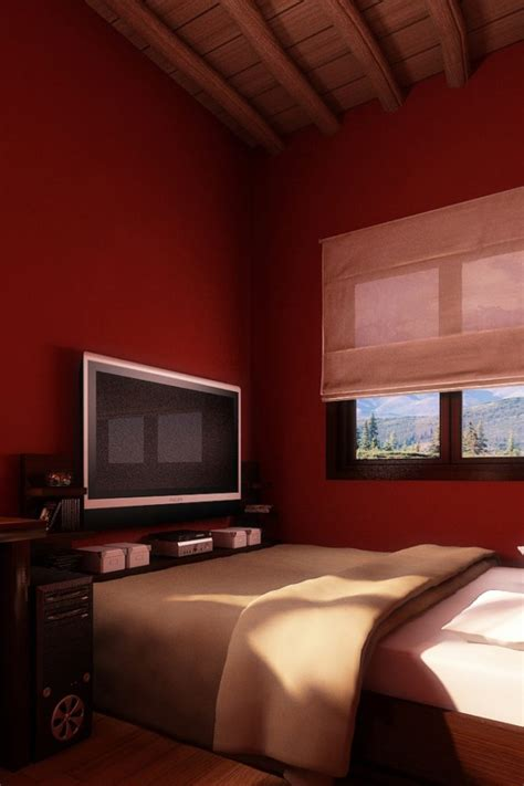 red bedroom interior hd wallpaper hd latest wallpapers