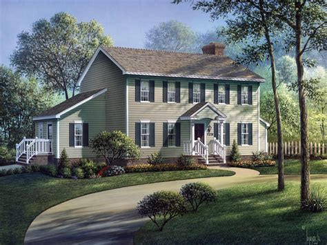 colonial house plans with portico walton colonial home plan 001d 0002 house plans and more