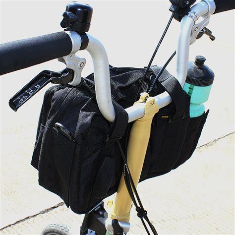 Tas Sepeda Handlebar Brompton Souma cfd bike bags