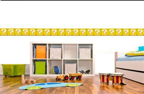 donde comprar cenefas adhesivas cenefas adhesivas decorativas mario bros 60 000 en