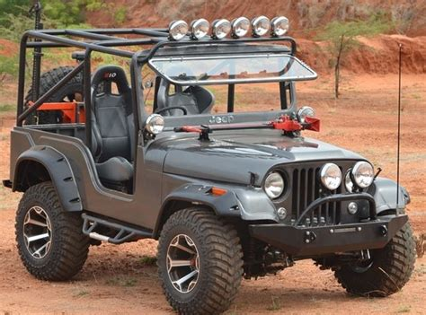 Modified Thar 4 215 4 Mahindra Pinterest D 4x4 And Ps