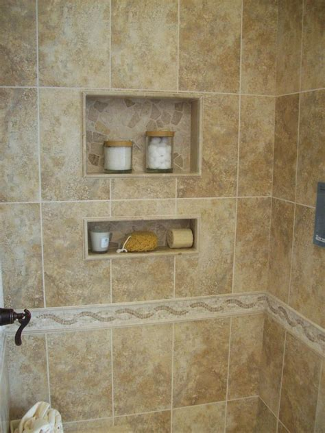 built in shower built in shower shelves as the practical way of storing