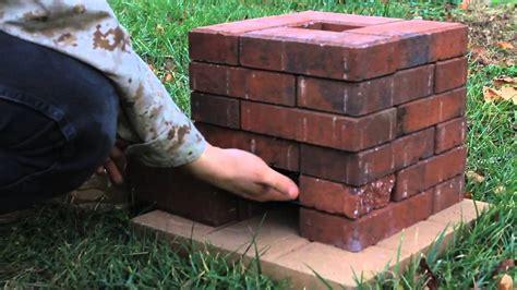 diy clay bricks diy brick rocket stove
