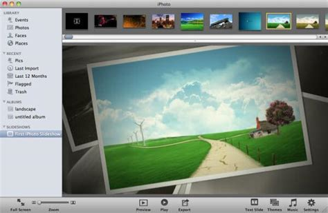 slideshow themes iphoto download how to make a iphoto slideshow to play on apple tv