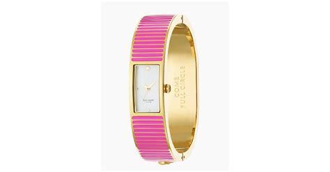 Kate Spade Carousel Bangle Pink kate spade new york come circle pink carousel bangle
