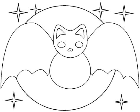 Free Printable Halloween Bat Coloring Pages Coloring