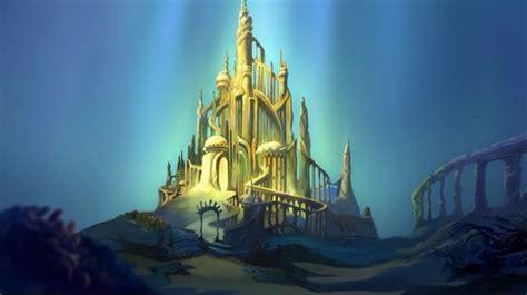 Topper Background Castle ariels underwater castle work disney underwater and mermaids