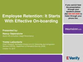 Employee retention it starts with effective onboarding