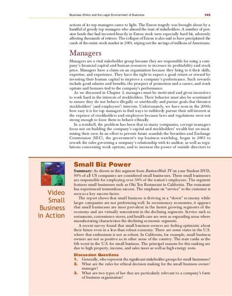 Shareholder Vs Stakeholder Essay by Enron Stakeholders Term Paper