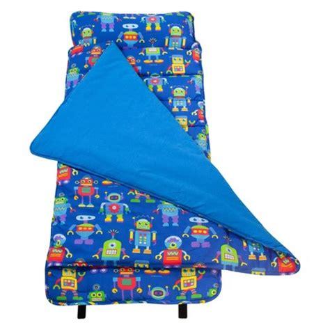 Nap Mats For Children by Wildkin Olive Robots Nap Mat Blue Target
