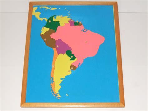 south america map puzzle south america puzzle map map montessori