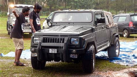The Gallery For Gt Modified Maruti Gypsy Black